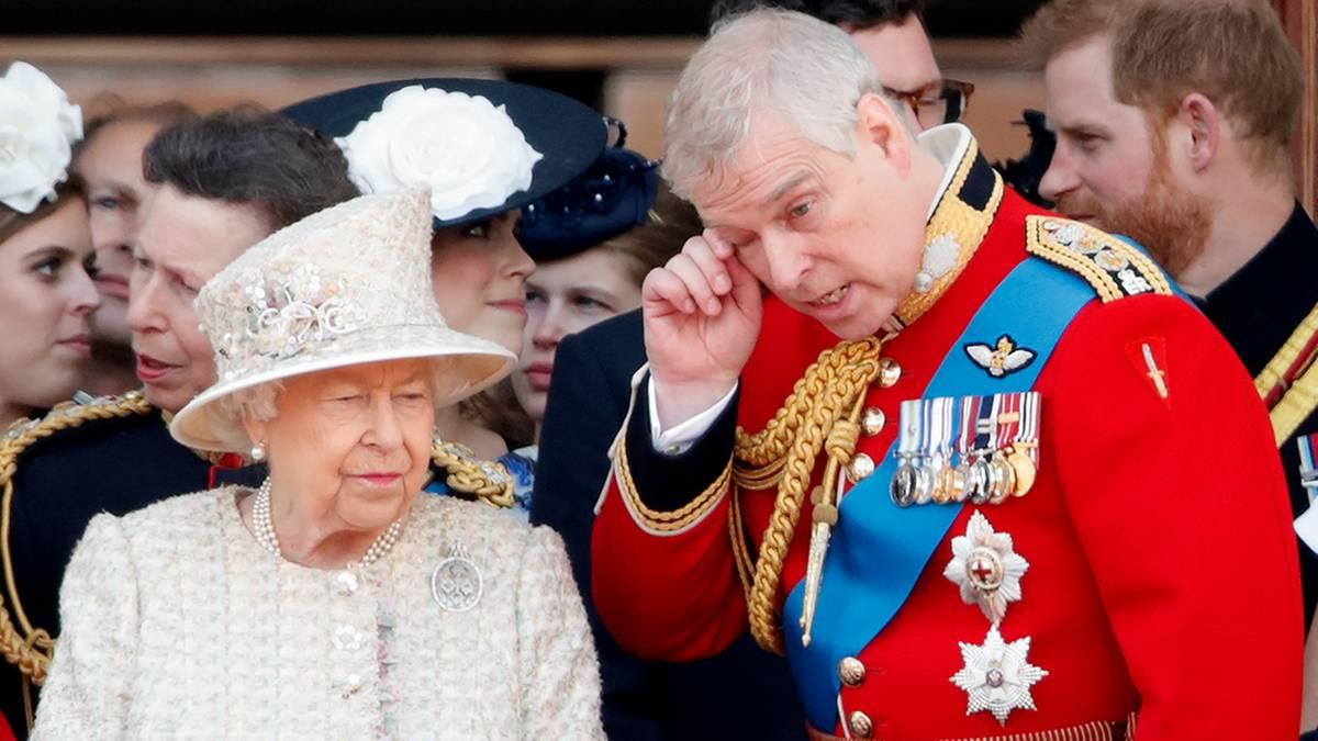 Royal-News: Queen Elizabeth gratuliert Andrew zum Geburtstag, aber ...