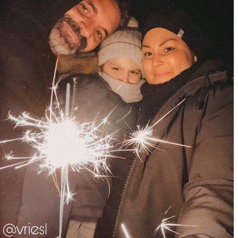 Michel, Levi und Mia de Vries