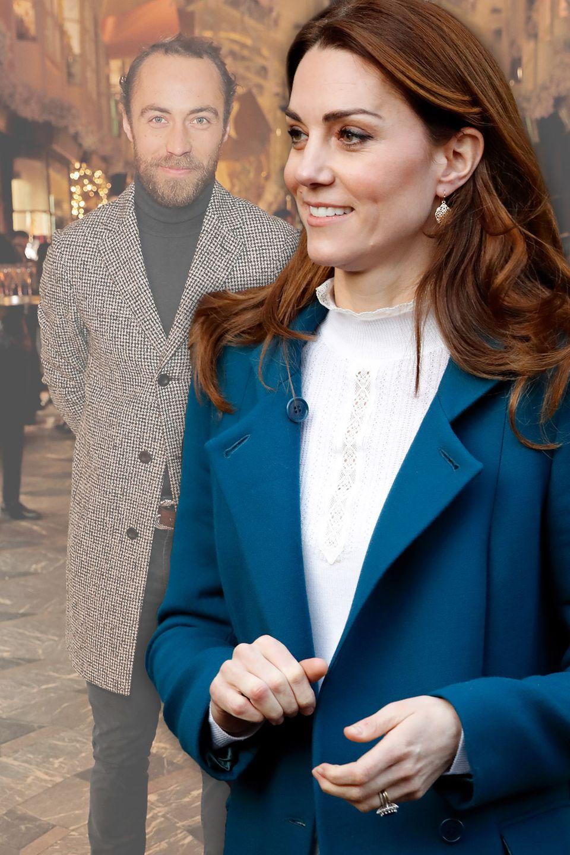 James Middleton und Herzogin Catherine