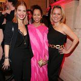 Eine fröhliche Reunion feierten Susan Sideropoulos,Minh-Khai Phan-Thi und Nova Meierhenrich.