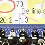 7 Köpfe für die 70. Berlinale:Die Jury stellt sich den Fragen der Pressevertreter.
