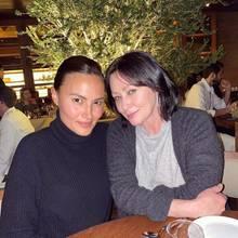 Shannen Doherty mit ihrer Freundin Anne