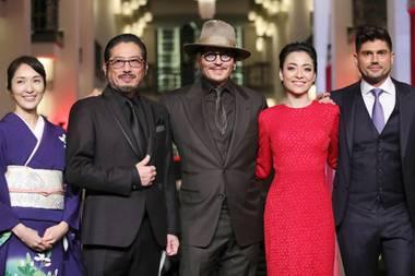 """Johnny Depp bei der Premiere von """"Minamata"""""""