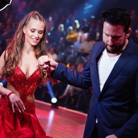 Laura Müller und Michael Wendler bei Let's Dance