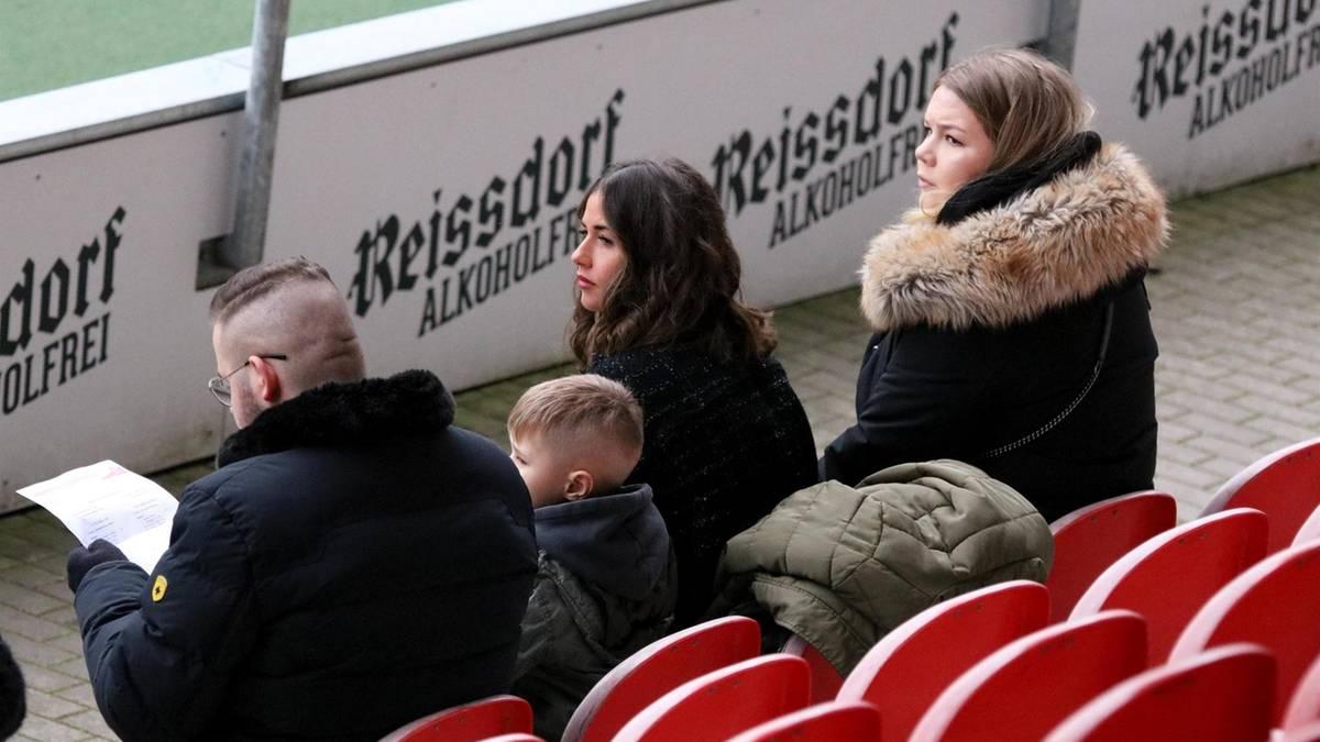 Sarah Lombardi: Erste Fotos mit Alessio im Stadion