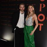 Ein absolutes Power-Couple: Stefanie Giesinger wird von ihrem Freund, dem britischen Youtube-Star Marcus Butler, zur Bulgari-Party begleitet.