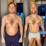 Nur sechs Wochen nach seinem ersten Posting präsentiert Olly Murs sichtlich stolz das Ergebnis seines harten Workouts. Sixpack, durchtrainierte Oberschenkel und eine neue Frisur lassen den Chartstürmer strahlen.
