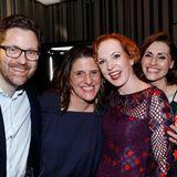 Sandro Schramm von Marco Polo feierte mit Publisherin Iliane Weiss, Veronika Rost vonEstée Lauderund TV-Gesicht und GALA Editor at large Bella Lesnik.
