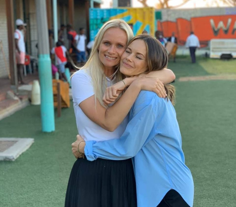 Prinzessin Sofia besucht Südafrika