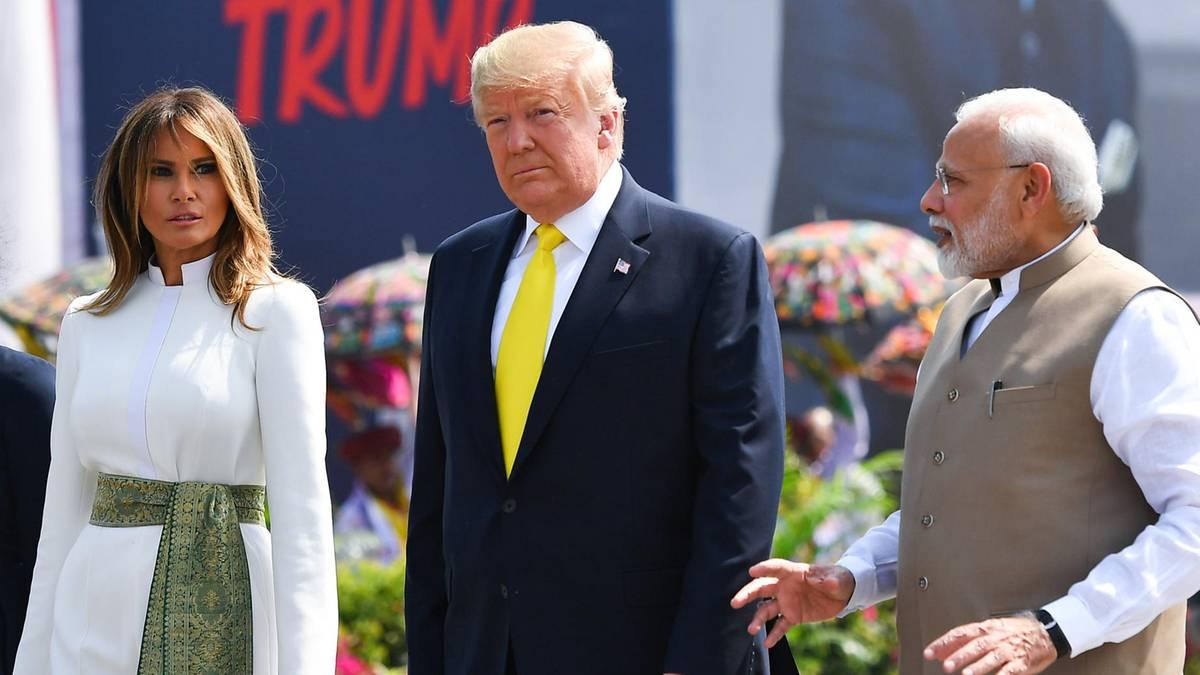 Melania Trump: Dieses Outfit wird ihr fast zum Verhängnis