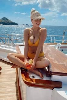 26. Februar 2020  Die Sonne im Gesicht, einen Drink in der Hand – klar, dassKate Upton allen Grund zum Strahlen hat. Wir würden sofort mit der hübschen Blondine tauschen!