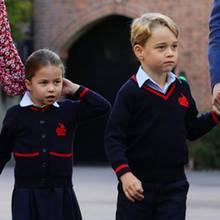 Prinzessin Charlotte und Prinz George
