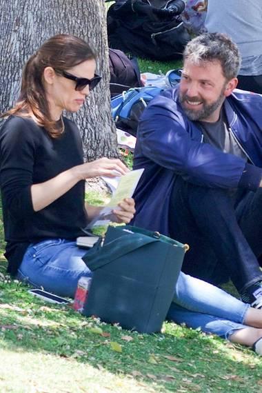 Jennifer Garner + Ben Affleck