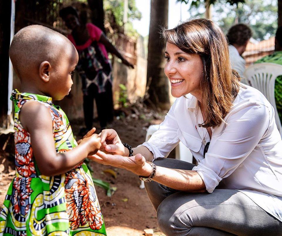 Prinzessin Marie in Uganda