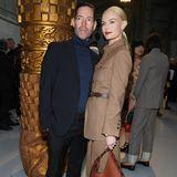 Ein absolutes Glamour-Paar. Kate Bosworth und ihr PartnerMichael Polish entscheiden sich beide für eine Anzug-Kombination und sehen dabei umwerfend aus.