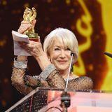 Helen Mirren wird mit dem Goldenen Ehrenbär ausgezeichnet