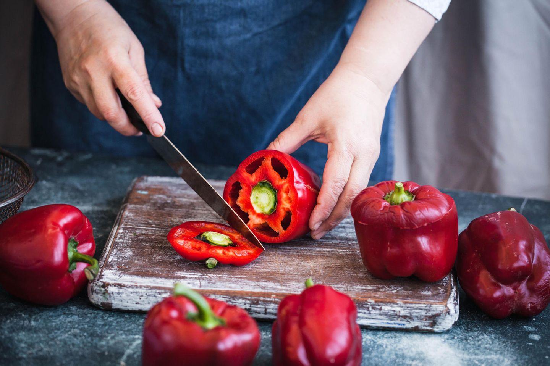 Immunsystem stärken mit roter Paprika