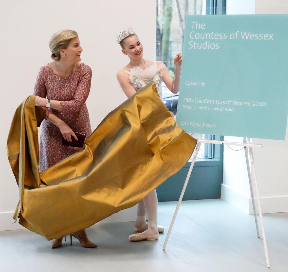 Sophie von Wessex eröffnet Ballett Studios