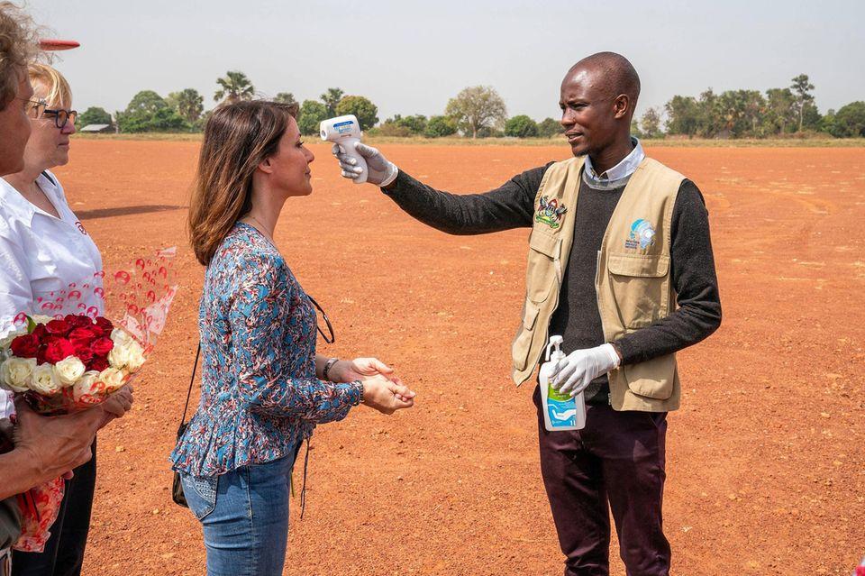 Prinzessin Maria besucht Uganda
