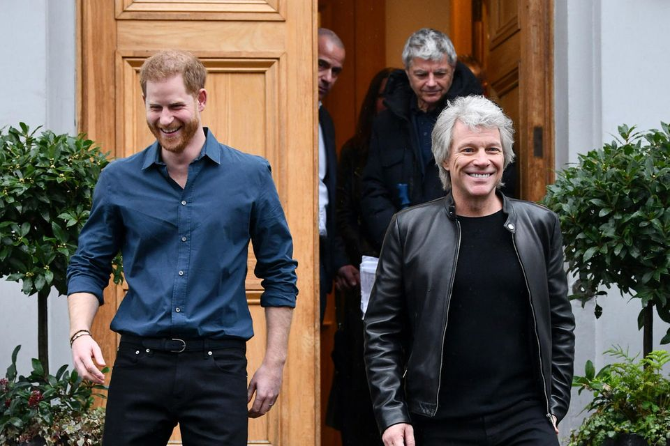 Prinz Harry, Jon Bon Jovi
