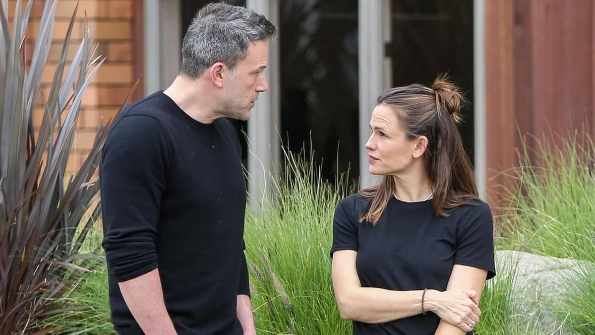 Ben Affleck: Erstes Treffen mit Jennifer Garner nach Liebeserklärung