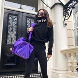 Sporty Spice? Ach nee, Posh Spice! Victoria Beckham zeigt, wie lässig und stylisch sie zum Sport geht.