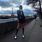 Paris sei immer eine gute Idee, kommentiert Topmodel Karlie Kloss ihr Instagram-Foto aus der Stadt an der Seine. Finden wir auch, besonders, wenn dabei so schöne Bilder entstehen.