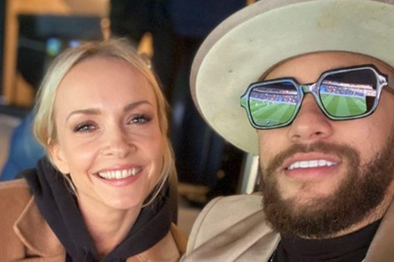 Dieses Foto mit Janin Ullmann postete Fußball-Star Neymar am Samstag (29. Februar) auf Instragram.