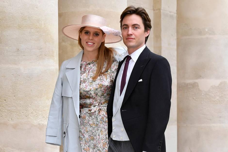 Prinzessin Beatrice + Edoardo Mapelli Mozzi