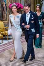 Prinzessin Victoria und Prinz Daniel beim letzten Repräsentationsdinner am 12. November 2019 im Palast in Stockholm.