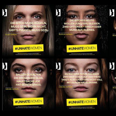 #unhatewomen:  Diese Kampagne kritisiert verbale Gewalt gegen Frauen in Raptexten