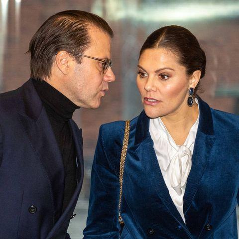 Prinz Daniel und Prinzessin Victoria