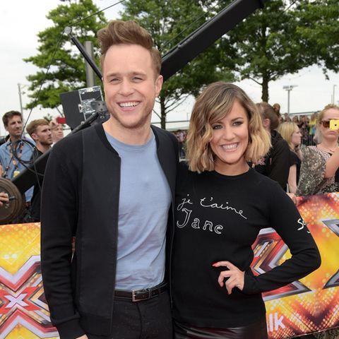 Olly Murs und Caroline Flack (†)