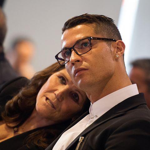Dolores Aveiro und Christiano Ronaldo