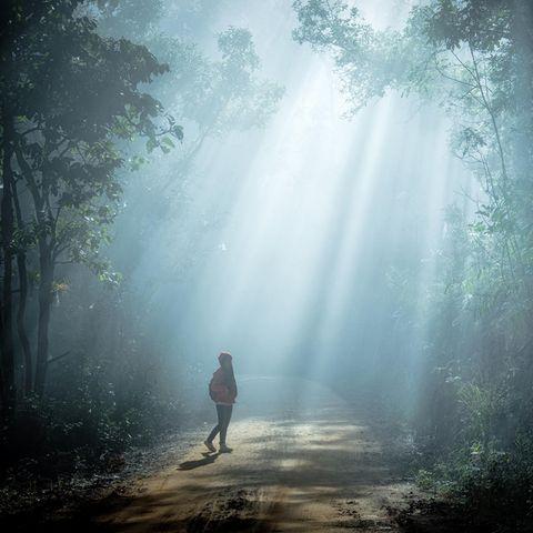Das achtjährige Mädchen aus Georgia ist meilenweit alleine durch den Wald gelaufen, für ihre Mutter kam allerdings jede Hilfe zu spät. (Symbolbild)