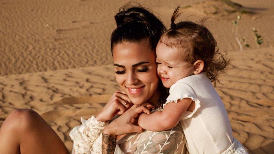 Elena Miras und Tochter Aylen