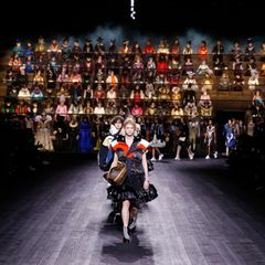 Was für ein beeindruckendes Setting bei der Show von Louis Vuitton!
