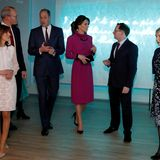 Der letzte Termin des Tages führt William und Kate indasMuseum für Literatur in Dublin. Dort besuchen sieeinen Empfangdes irischen Vize-Premierminister Simon Coveney.