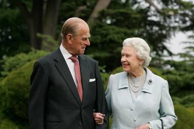 Prinz Philip und Queen