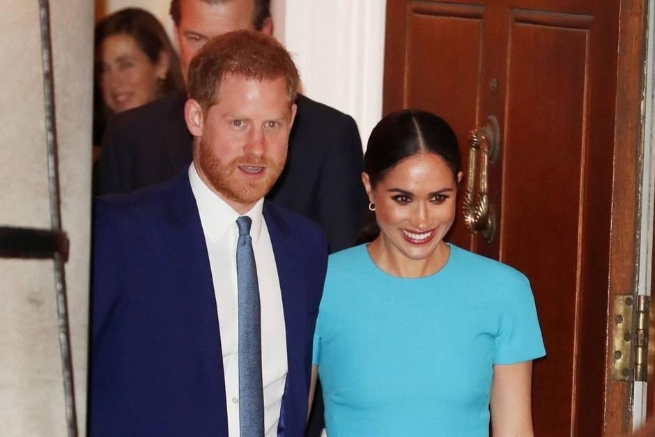 Prinz Harry und Herzogin Meghan besuchen am 5. März in London die Endeavour Fund Awards.