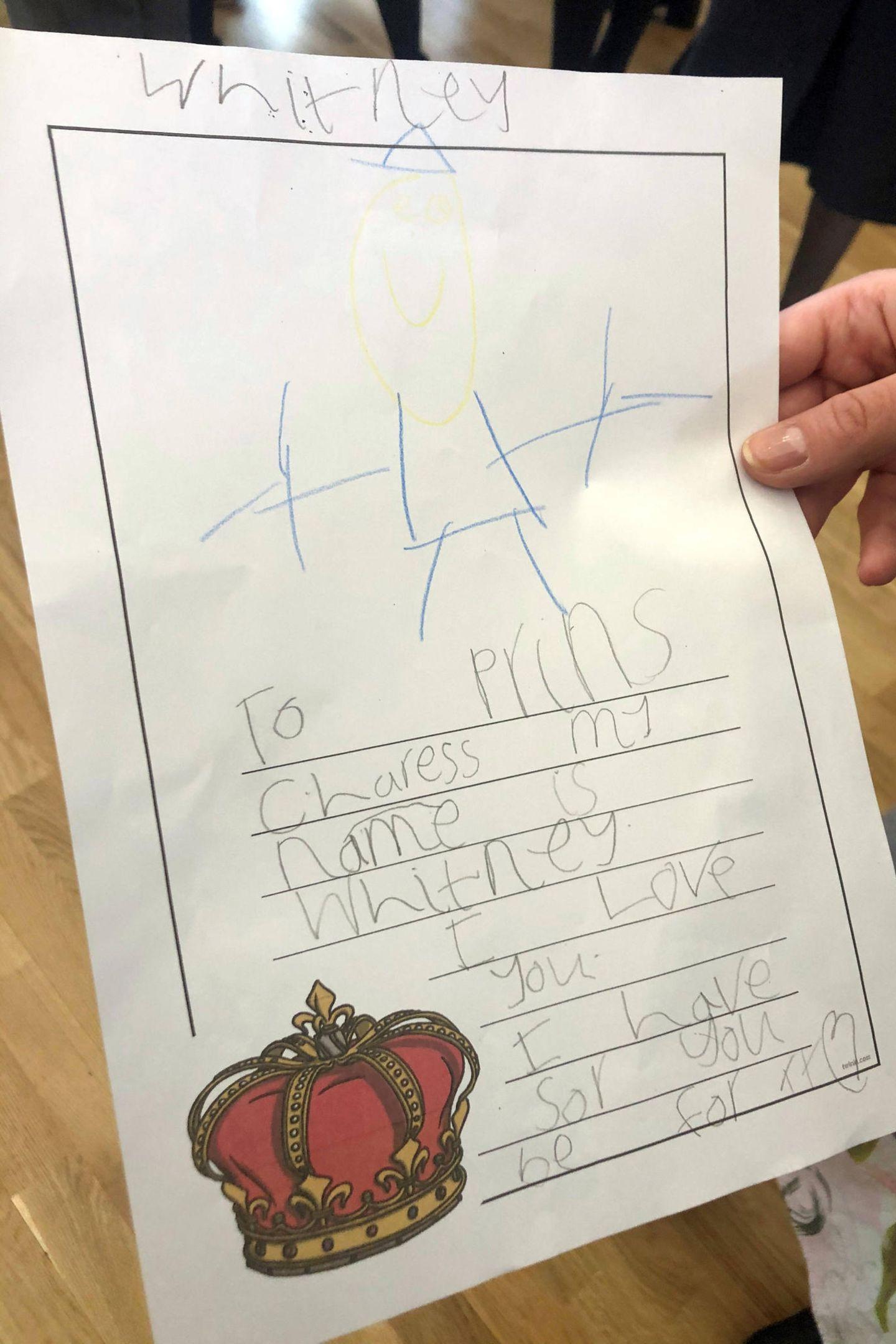 Prinz Charles bekommt einen Liebesbrief