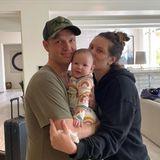 Nick Carter mit Frau Lauren und Tochter Saoirse