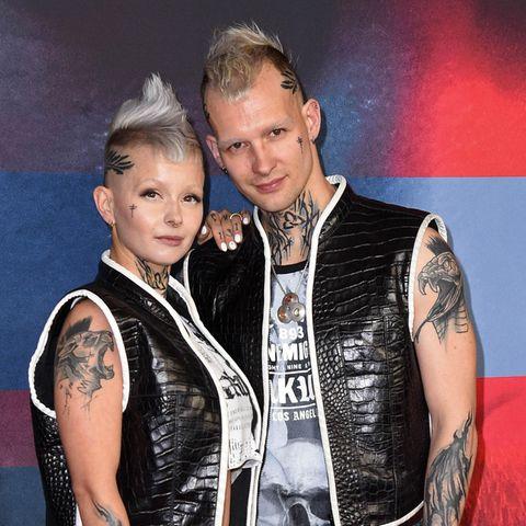 Eric Stehtfest mit seiner Frau Edith