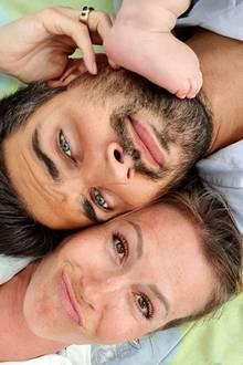 Nachdem Wolke Hegenbarth und Oliver Vaid im September zum ersten Mal Eltern geworden sind,vagen sie jetzt den nächsten Schritt, das Abenteuer Ehe.