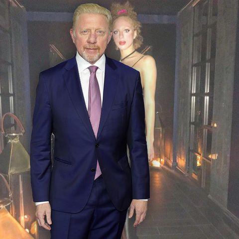 Boris Becker + Anna Ermakova