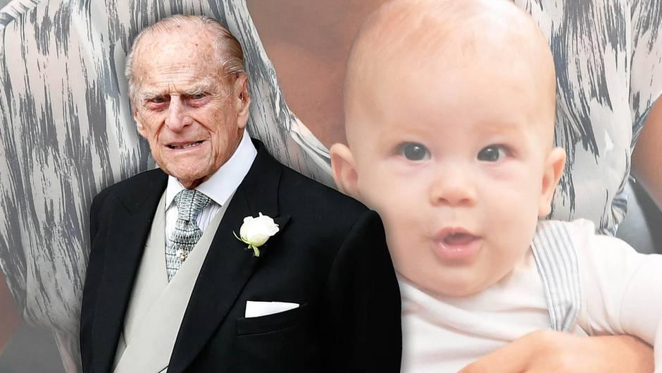 Prinz Philip + Baby Archie
