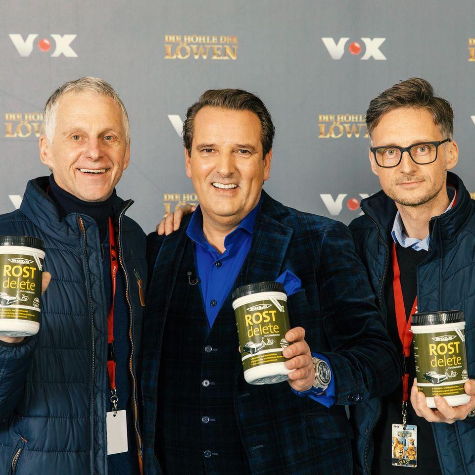 ROSTdelete, Rostentferner, Produktneuheit, Die Höhle der Löwen, Gründer, Ralf Dümmel