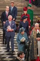 Herzogin Catherine + Prinz William, Prinz Harry + Herzogin Meghan (Fotocollage)