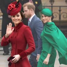 Kate + Meghan mit Harry