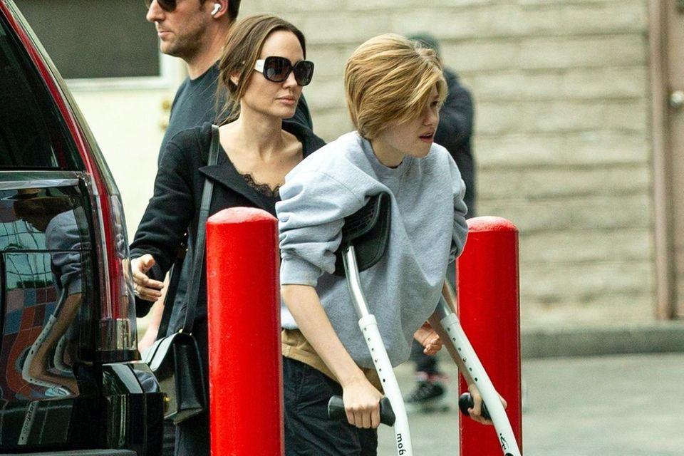 Angelina Jolie und Shiloh Jolie-Pitt